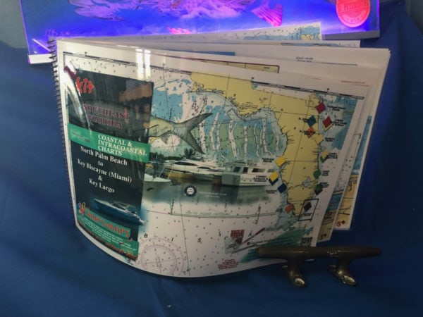 Southeast Florida Nautical Chart Kit - North Palm Beach to Key Biscayne, Miami Beach and Key Largo